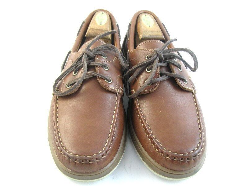 Allen Edmonds  EASTPORT  Boat Boat Boat shoes 9 D Brown   (483) 640e7d