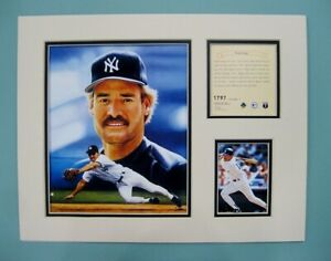 New York Yankees Wade Boggs 1995 Baseball 11x14 MATTED Kelly Russell Print