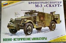 1//35-3546 Military Model Kit ZVEZDA BA-3 Soviet Armored Car Scale