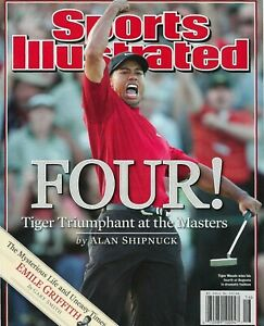 Tiger Woods 2005 Masters win Sports Illustrated Cover ...