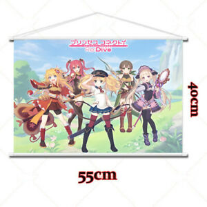 Anime Princess Connect Re Dive Home Decor Poster Wall Scroll 40x55cm HD Gift #27