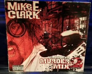 Mike-E-Clark-Murder-Mix-vol-2-CD-insane-clown-posse-twiztid-house-of-krazees