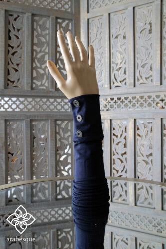 Guanti islamica Braccio Maniche-Con Bottoni Stile