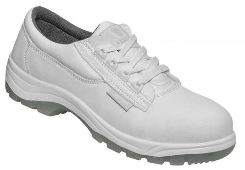 W330 MAXGUARD Küchenschuhe Schnürschuh Arbeitsschuhe mit Schutzkappe S2 SRC Weiß
