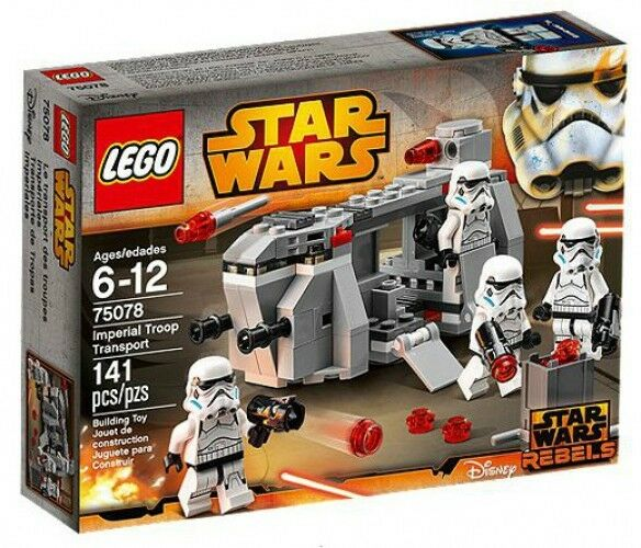 LEGO Star Wars Rebels Imperial Troop Transport Set  75078