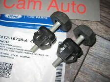 Ford Truck Explorer Bronco Hood Bumper Stop adjuster Genuine OEM Ford  Set of 2