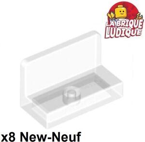 Lego 6x Panel Panneau 1x2x1 Rounded Corners azur medium azure 4865b NEUF