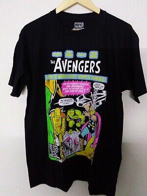 Official Marvel Comics Thor Distressed Big Head T-Shirt Iron Man Captain America