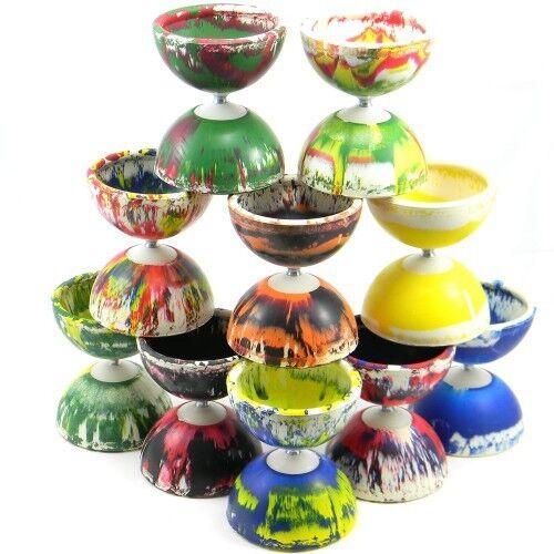 Choice of Colours Radiant Diabolo Medium Sized Diablo Juggling Toy