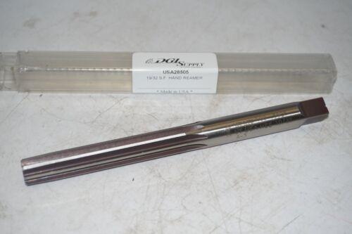 "8 Straight Flutes HSS Hand Reamer USA made 0.5938/"" new YANKEE #400 19//32/"""