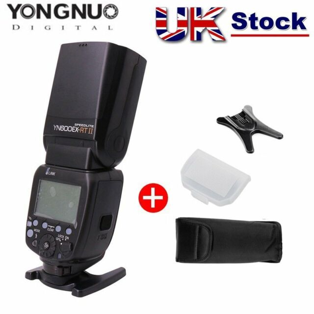 Yongnuo YN600EX-RT II Wireless Flash Speedlite TTL HSS Master for Canon Cam UK