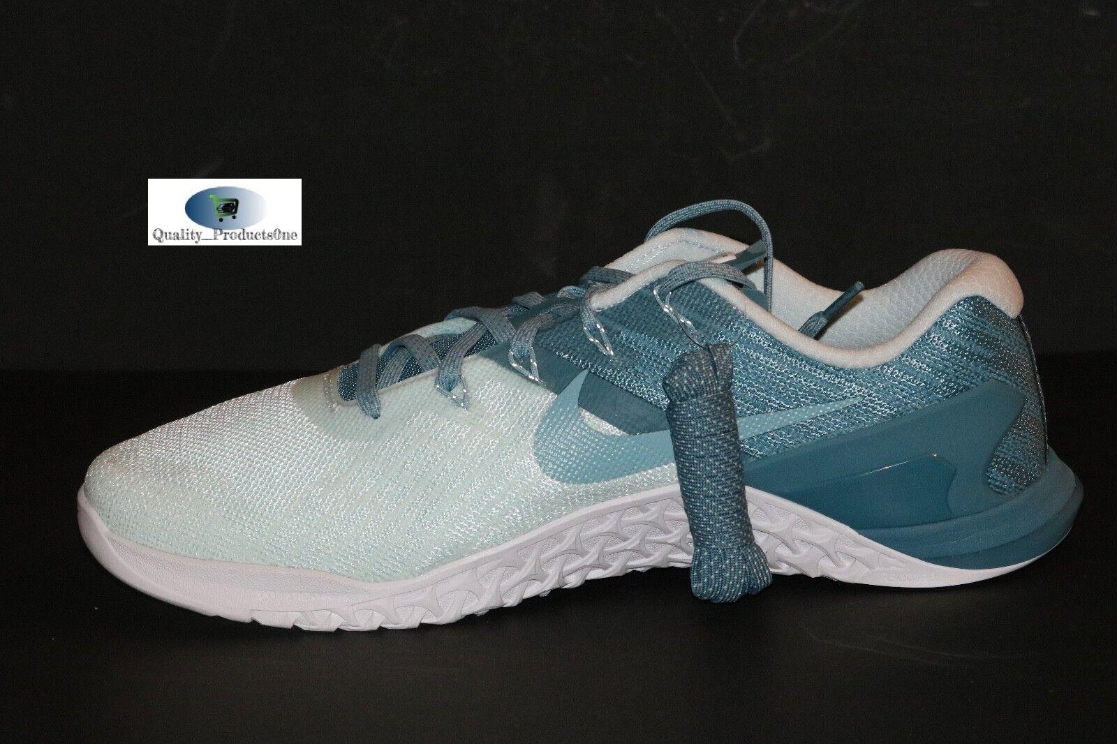 ba3bf2b896af ... WOMEN S WOMEN S WOMEN S Nike Metcon 3 Glacier Blue Mica Blue 849807 400  Sz 11.5 d56226 ...