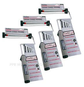 3-x-ProDec-Advance-039-TITAN-039-9-034-x-1-75-034-No-Break-Roller-Cage-Paint-Frame-ARFR001