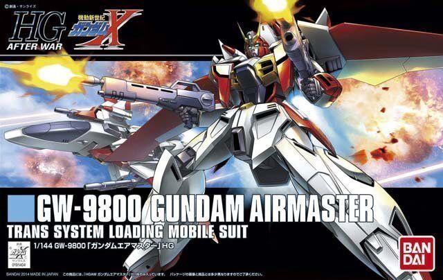 Bandai 1  144 HGAW 184 GW -9800 Gundam Airmaster