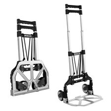 Stock Transport Trolley Foldable Luggage Hand Sack Truck With Telescoping Handle