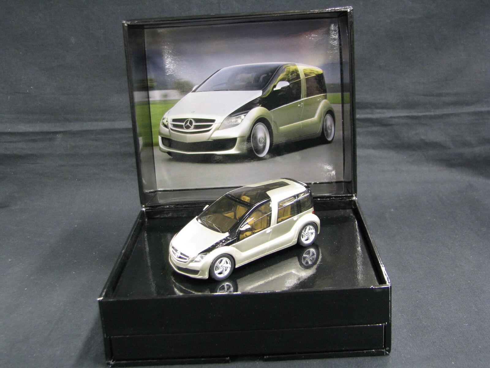 Spark Mercedes-Benz F600 Concept Car 2006 1 43 oro Metallic (JS)