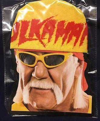 Hulk Hogan Wrestler Yellow Bandana 1980's Fancy Dress Hulkamania Wrestling Hat | eBay