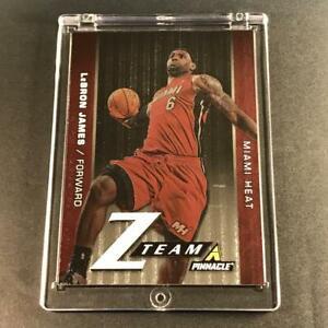 LEBRON-JAMES-2013-PANINI-PINNACLE-9-ZTEAM-FOIL-INSERT-CARD-MIAMI-HEAT-NBA