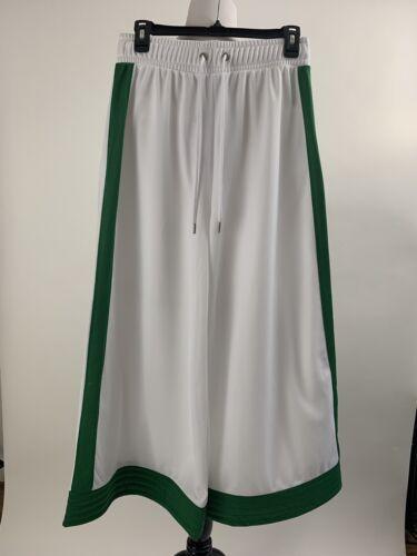 36 Hendrix Ganni White W Nwt Leg Størrelse Beskåret Stripe Buksers Wide grøn nXPBwAfq4