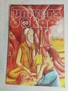 N9 Rivista Universo Okapi N° 68 Sin Del Senegal Antico VA Amadou