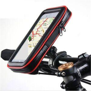 NEW-Bike-Bicycle-Motorcycle-Waterproof-Phone-Case-Bag-Handlebar-Mount-Holder-GPS