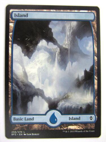 FULLART ISLAND 256//274 # 5D28 MTG Magic Cards