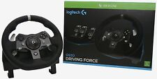 Logitech G920 UK Plug Driving Force Racing Wheel for Xbox One and PC 2 Yr Guaran