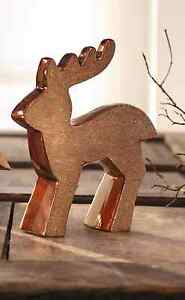 Weihnachtsdeko Kupfer rentier dekofiguren weihnachten weihnachtsdeko kupfer rehe hirsch