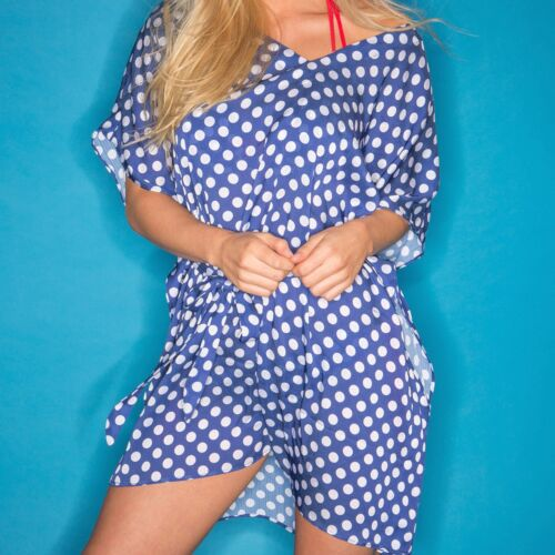 Pour Moi Starboard Kaftan Navy//Red 68016