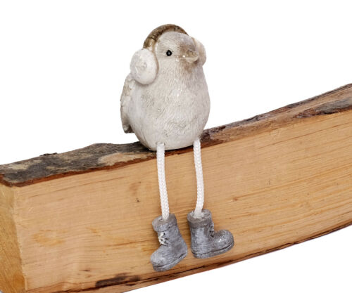 Decorative Figurine Bird Shelf Sitter Sitting Wintervogel Decode Object