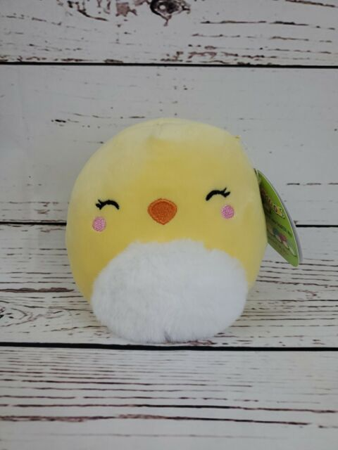 5 Squishmallow Yellow Baby Chick Plushie