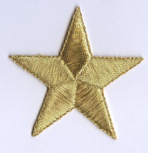 """Iron on Applique//Embroidered Patch STARS 150031 PACK of 10 PCS 5//8/"""""""