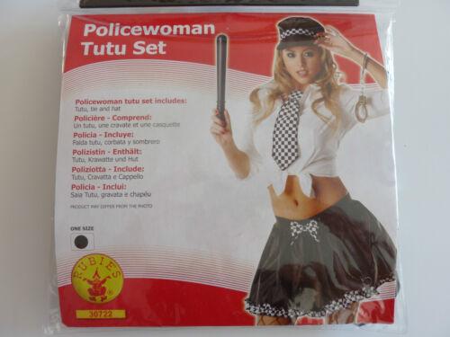 RUBIE/'S Policewoman Tutu Set taglia unica nuovo in confezione