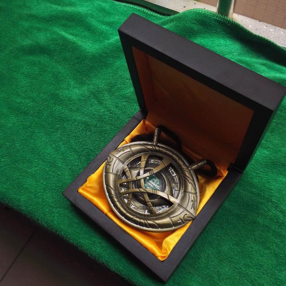 Halskette Amulett Marvel Auge Auge Auge Agamotto Metall Bright Doctor Strange 97e252