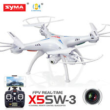 Syma X5SW-V3 Wifi FPV Explorers 2.4G RC Quadcopter Drones With HD Camera White