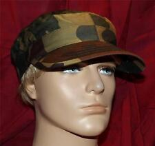 Italian Military Surplus Item > C. Liguria < New Woodland Camo Cap LARGE