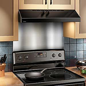 Broan Sp3604 Backsplash Range Hood Wall Shield 24 X 36 Stainless Steel 26715000777 Ebay
