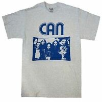 CAN photo of band Tago Mago Future Days  KRAUT ROCK MENS MUSIC T SHIRT