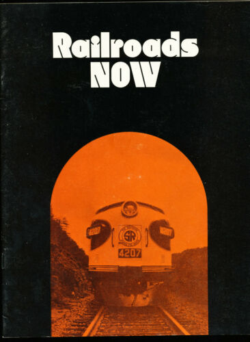 1970 Railroads Now Brochure Association of American Railroads