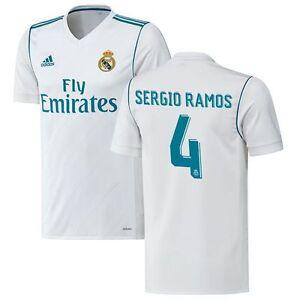 2019 2020 Real Madrid Adidas Home Shirt (Kids) (SERGIO RAMOS