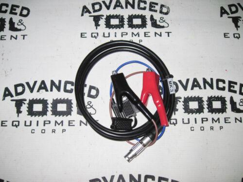 New 1.8m Trimble MK3 Trimmark 3 Radio GPS Power Cable 2 Pin w// Alligator Clips