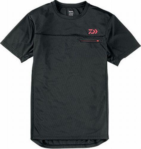 Daiwa Camisa Manga Corta DE-8305  Negro Talla XL (ll)  tienda hace compras y ventas