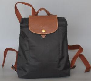 a42b95184734 Image is loading New-Longchamp-Le-Pliage-Backpack-Nylon-Black