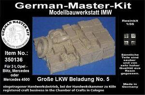 350136-Ladegut-1-35-Grosse-LKW-Beladung-No-5b-Resin-WWII-GMK-World-War-II