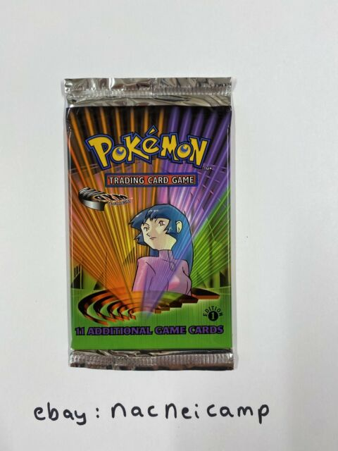 1st Edition Gym Challenge Factory Sealed Booster Pack WOTC Pokemon Cards Sabrina