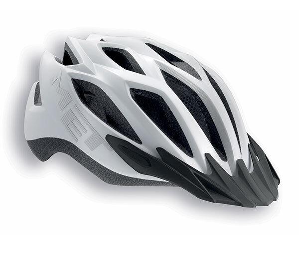 Fahrradhelm Met Crotver-Mod. Weiß Matt Helmet Met Crotver Weiß Matt