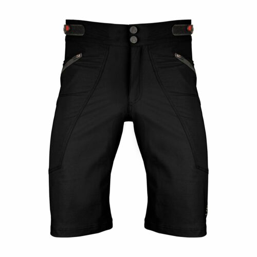 The Shredder Men's MTB Off Road Cycling Shorts Bundle with Padded Undershorts