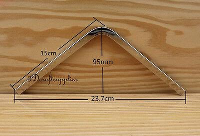 Métal Sac à Main Cadre Sac à Main Ferrure Porte-monnaie Portefeuille Bordure Purse Edge 15.5 cm D69