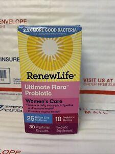 Renew Life Ultimate Flora Probiotic Women's Care, 30 capsulesBestby:11/2021