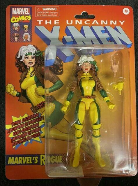 MARVEL LEGENDS RETRO X-MEN ROGUE IN HAND!